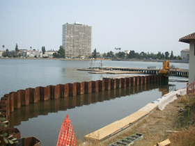 Estaca prancha e Cofferdams