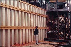 Como usar as paredes de estaca prancha