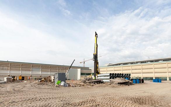 Selantes de bloqueio Estaca prancha em aplicações de construção portuária